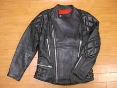 70年代 フランス シープスキン ライダースジャケット ML