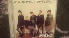 激安!激レア!☆MBLAQ/BLAOMEMORIESーBESTinKOREA☆初回盤A/CD+DVD
