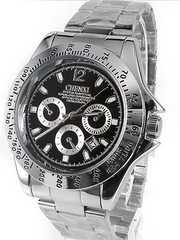 即決ヤクザ悪羅悪羅系腕時計/メンエグ&やくざオラオラ系チョイ悪小物cx-008黒