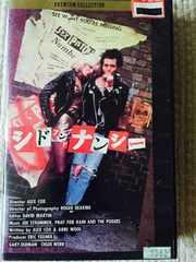 シド アンド ナンシー  SID & NANCY  VHSビデオ