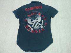 RAMONES ラモーンズ 半袖シャツ S PUNK 666 ウエスタンシャツ