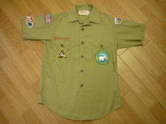 BSAボーイスカウトXS位ヴィンテージ半袖シャツワークシャツ