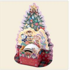TDSイッツクリスマスタイム!ダイカット付箋セット新品
