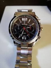 男性用腕時計クロノグラフ