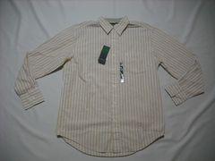 48 男 TIMBERLAND ティンバーランド ストライプシャツ Mサイズ