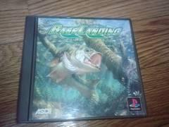 PS☆バス ランディング☆状態良い♪釣りゲーム。