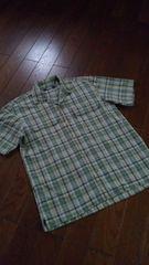 【美品】KANSAI JEANS◆山本寛斎◆上質summerカジュアルシャツ
