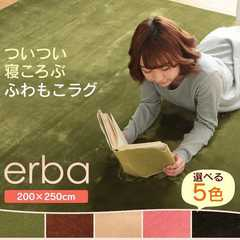 洗える ラグマット約3畳 ホットカーペット対応m7052786★色選択