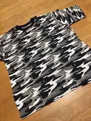 MUJI-ARMY  迷彩柄Tシャツ新品シティカモサイズXL�Fワッフル生地