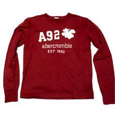 Abercrombie & Ficth:アバクロ、ロングTシャツ