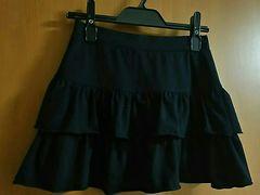 ユニクロ☆キッズ2段スカート☆UNIQLO☆130�p