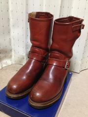 レッドウィング 8271 PT91 エンジニアレザーブーツ US6D 24.5 赤茶 USA製 革靴