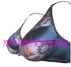 ★セクシー透けブラ★シリコンバスト用ブラジャー90D人工乳房に