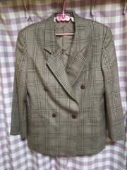 ★BURBERRY バーバリー ジャケット サイズ9AR 気品 女性 モデル トーマス●