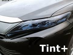 Tint+何度も貼れるハリアー60前期/後期ヘッドライト スモークフィルム