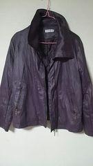 ライダース風*☆紫*ジャケット。☆*