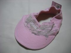 wn22 女 BILLABONG ビラボン ニットサンバイザー ピンク