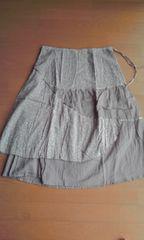 新品未使用☆小花ドット柄スカート