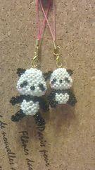 handmade*パンダ♪小パンダ♪♪