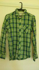 GU*メンズチェックシャツ
