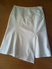 新品RFショップ内で購入スカート白クリーム36