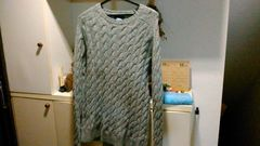 BEAMS Sサイズ ニット セーター グレー Pilgrim