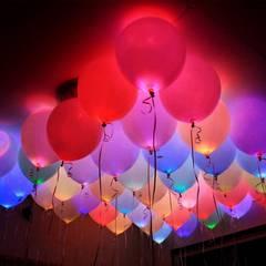 風船 LEDバルーン 50個セット LeHom 光る風船