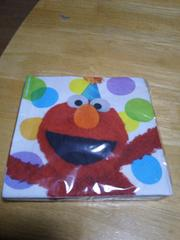 エルモの紙ナプキン