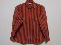 即決USA古着●FIVE BROTHERストライプデザインネルシャツ!ヴィンテージ・アメカジ
