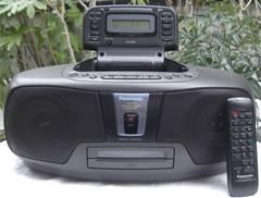 PANA/RX-DS05バブカセ,CDステレオラジカセ中古完動品