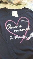 Tシャツ (長袖、新品)