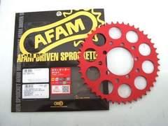 (7704R)CBX400FAFAM特注赤カラースプロケット