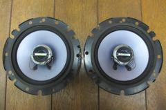 アゼスト SRT162Y 動作確認済み 左右セット 100W 16cm �F