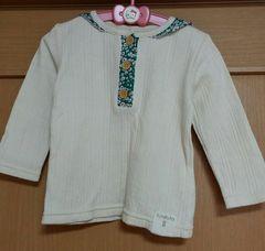襟が可愛い長袖トップス☆size95
