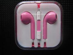 新品 iPhone iPod touch用 イヤホンマイク ピンク