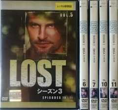 LOST シーズン3★DVD 5本★ロストシーズン3★