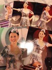 松田聖子コンサート写真?CA風キラキラ衣装5枚セット