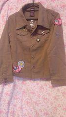 ローズファンファン〓ミリタリー風長袖シャツ