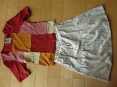 SM2合わせやすいスカート+ホコモモラトップス