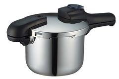 圧力鍋 3.5L IH対応 3層底 切り替え式 レシピ付