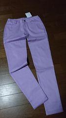 ¥4644新品☆ANAP薄紫パープルパンツ/M