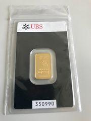 期間限定価格*UBS純金インゴット5g*ポイント消化にも♪