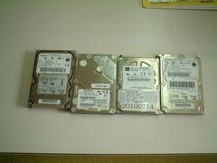 ノートパソコン用 小容量 HD 4個セット