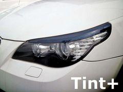 Tint+何度も貼れるアイライン スモークフィルム BMW E60/E61前期/後期ヘッドライト