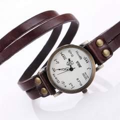 ぐるぐる 数式腕時計 フリーサイズ
