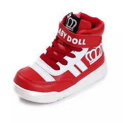 ★新品★ベビードール スニーカー靴 赤 19cm
