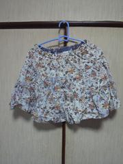 スカート花柄