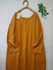 *as know as *olaca*wool100%Vネックワンピ 新品24000円