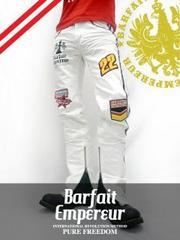 BarfaitEmpereur(バルフェアンプルール)ホワイトデニム/M