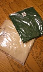 PROCLUB無地 厚手半袖Tシャツ 2枚セット深緑ーカフェラテ 4XL P�R